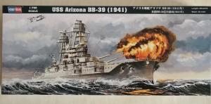 HOBBYBOSS 1/700 83401 USS ARIZONA BB-39  1941