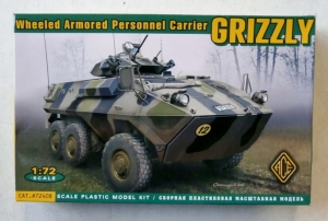 ACE 1/72 72408 WHEEL ARMOURED PERSONNEL CARRIER GRIZZLY