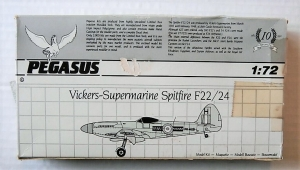 PEGASUS 1/72 1020 SUPERMARINE SPITFIRE F.22/24