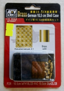 AFV CLUB 1/35 35097 GERMAN BRASS 10.5cm SHELL CASE