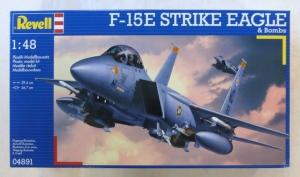 REVELL 1/48 04891 F-15E STRIKE EAGLE   BOMBS