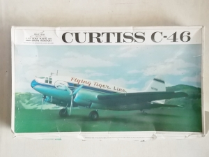 WILLIAMS 1/72 346 CURTISS C-46 FLYING TIGER LINE