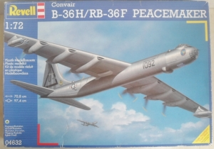 REVELL 1/72 04632 B-36H/RB-36F PEACEMAKER  UK SALE ONLY