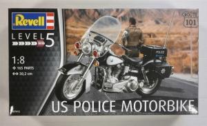 REVELL 1/8 07915 US POLICE MOTORBIKE