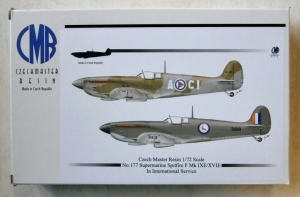CZECH MASTER RESIN 1/72 177 SUPERMARINE SPITFIRE Mk.IXE/XVIE IN INTERNATIONAL SERVICE