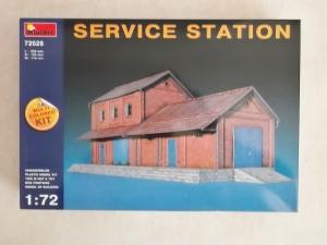 MINIART 1/72 72028 SERVICE STATION