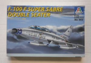 ITALERI 1/72 003 F-100F SUPER SABRE DOUBLE SEATER