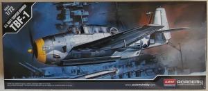 ACADEMY 1/72 12452 GRUMMAN TBF-1 AVENGER