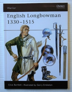 OSPREY WARRIOR  011. ENGLISH LONGBOWMAN 1330-1515