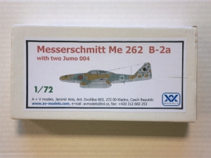 A   V MODELS 1/72 MESSERSCHMITT Me 262 B-2A WITH TWO JUMO 004