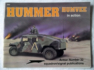 SQUADRON/SIGNAL ARMOR IN ACTION  2032. HUMMER HUMVEE