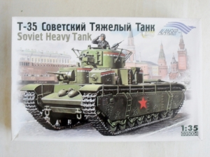 ALANGER 1/35 35004 T-35 SOVIET HEAVY TANK