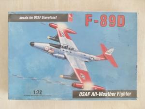 HOBBYCRAFT 1/72 1374 F-89D