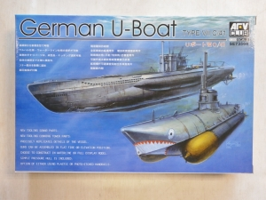 AFV CLUB 1/350 73504 TYPE VIIC/41 U-BOAT