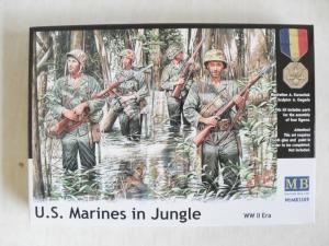 MASTERBOX 1/35 3589 WWII US MARINES IN JUNGLE