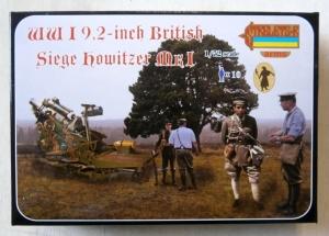 STRELETS 1/72 A012 WWI 9.2inch BRITISH SIEGE HOWITZER