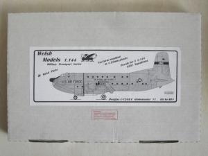 WELSH MODELS 1/144 MT4 DOUGLAS C-124A/C GLOBEMASTER 11