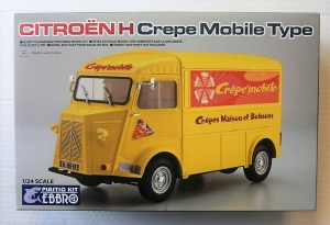 EBBRO 1/24 25010 CITROEN H CREPE MOBILE TYPE