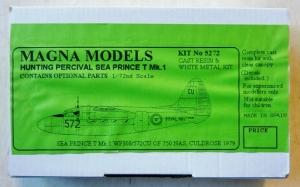 MAGNA 1/72 5272 HUNTING PERCIVAL SEA PRINCE T Mk.1