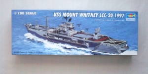 TRUMPETER 1/700 05719 USS MOUNT WHITNEY LCC-20 1997