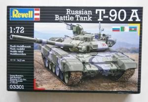 REVELL 1/72 03301 RUSSIAN BATTLE TANK T-90A