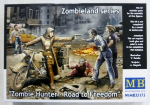 MASTERBOX 1/35 35175 ZOMBIE HUNTER ROAD TO FREEDOM