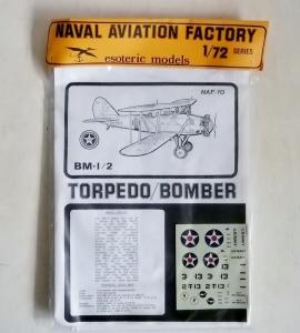 ESOTERIC 1/72 NAF-10 BM-1/2 TORPEDO/BOMBER