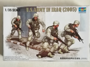 TRUMPETER 1/35 00418 U.S. ARMY IN IRAQ 2005