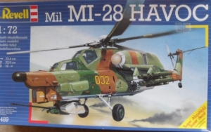 REVELL 1/72 4489 MIL Mi-28 HAVOC
