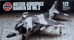 AIRFIX 1/72 02072 BRITISH AEROSPACE HARRIER GR Mk.3