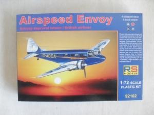 RS MODELS 1/72 92102 AIRSPEED ENVOY