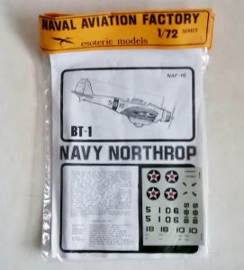 ESOTERIC 1/72 NAF-16 BT-1 NAVY NORTHROP
