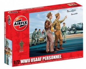 AIRFIX 1/72 01748 WWII USAAF PERSONNEL
