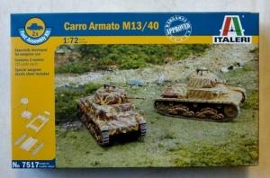 ITALERI 1/72 7517 CARRO ARMATO M13/40