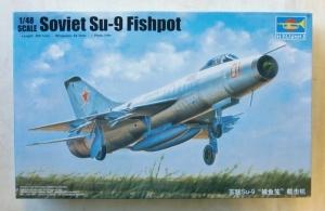 TRUMPETER 1/48 02896 SOVIET Su-9 FISHPOT
