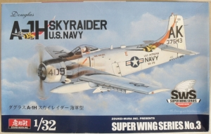 ZOUKEI-MURA 1/32 SUPER WING SERIES NO.3 A-1H SKYRAIDER US NAVY
