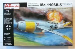 AZ MODEL 1/72 7539 MESSERSCHMITT Me 1106B-5 HOHENJAGER