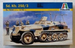 ITALERI 1/72 7034 Sd.Kfz 250/3