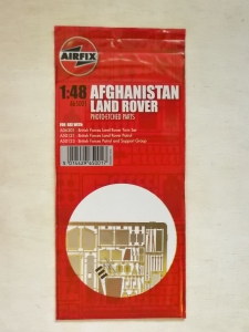 AIRFIX 1/48 65001 AFGHANISTAN LAND ROVER PHOTO-ETCHED PARTS
