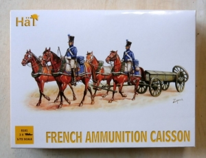 HAT INDUSTRIES 1/72 8101 FRENCH AMMUNITION CAISSON