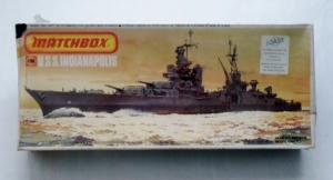 MATCHBOX 1/700 PK-165 USS INDIANAPOLIS