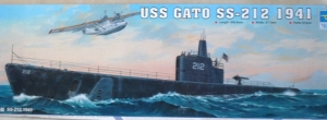 TRUMPETER 1/144 05905 USS GATO SS-212 1941  UK SALE ONLY