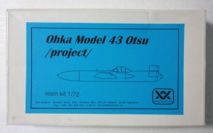 A   V MODELS 1/72 OHKA MODEL 43 OTSU