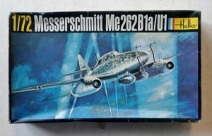 HELLER 1/72 233 MESSERSCHMITT Me 262B1a/U1