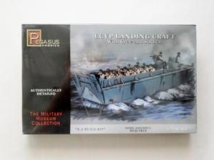 PEGASUS HOBBIES 1/72 7650 LCVP LANDING CRAFT