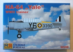 RS MODELS 1/72 92208 NA-64 YALE WWII TRAINER