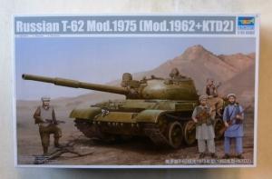 TRUMPETER 1/35 01551 RUSSIAN T-62 Mod.1975  Mod.1962 KTD2
