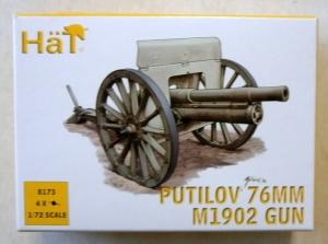 HAT INDUSTRIES 1/72 8173 PUTILOV 76mm M1902 GUN