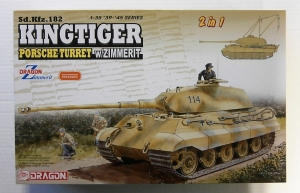 DRAGON 1/35 6848 KINGTIGER Sd.Kfz.182 PORSCHE TURRET WITH ZIMMERIT