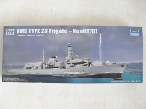 TRUMPETER 1/350 04544 HMS TYPE 23 FRIGATE - KENT  F78